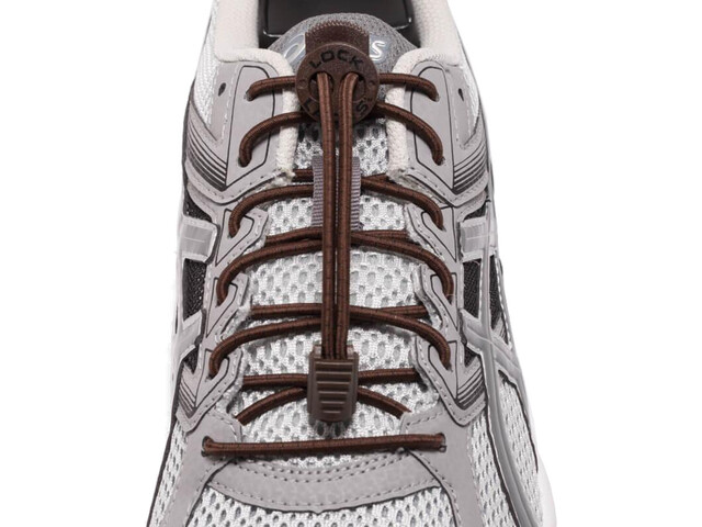 Lock Laces Run Laces, brown